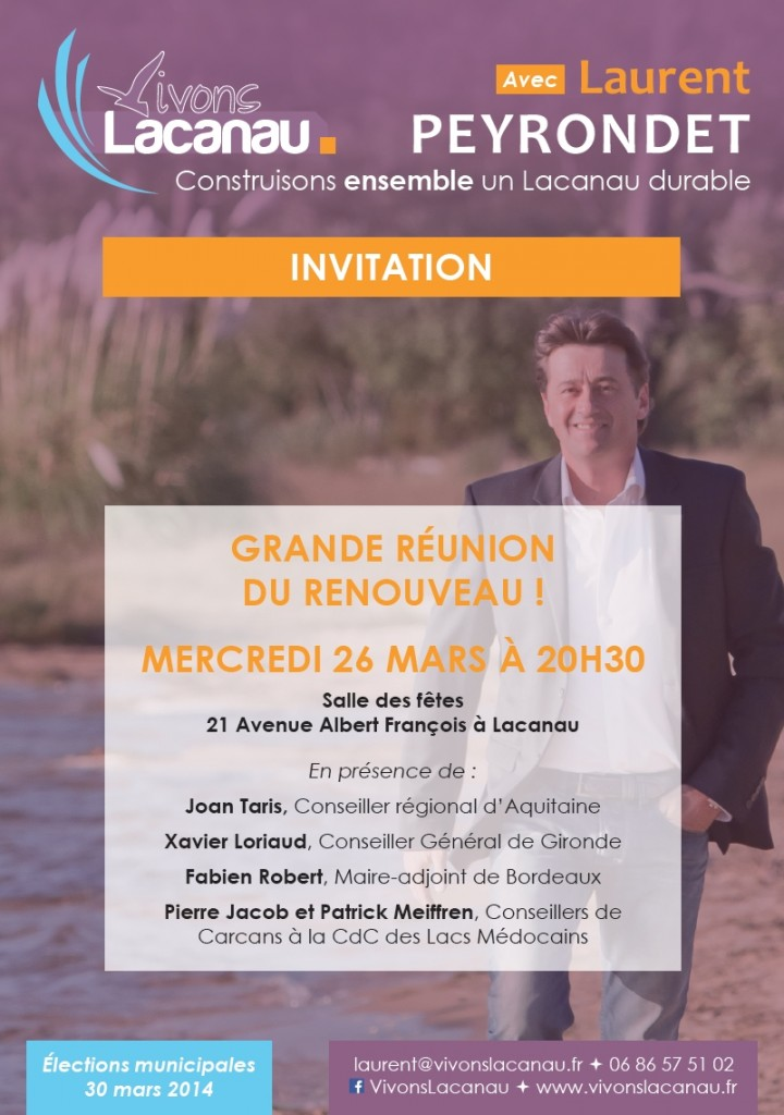Invitation Lacanau